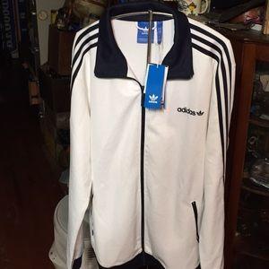 Adidas track top sweatshirt